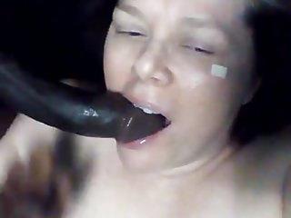 Gefickt Schwanz Mädchen Weißes schwarzen Monster Schwanz